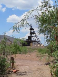 Headframe of the Campbell Shaft.