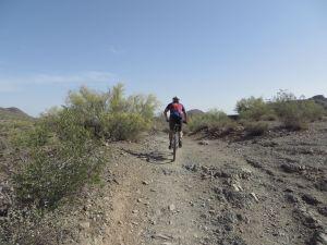 Outdoors -biking