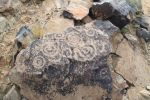 Petroglyphs of the sun during the seasons of the year, Shaw Butte