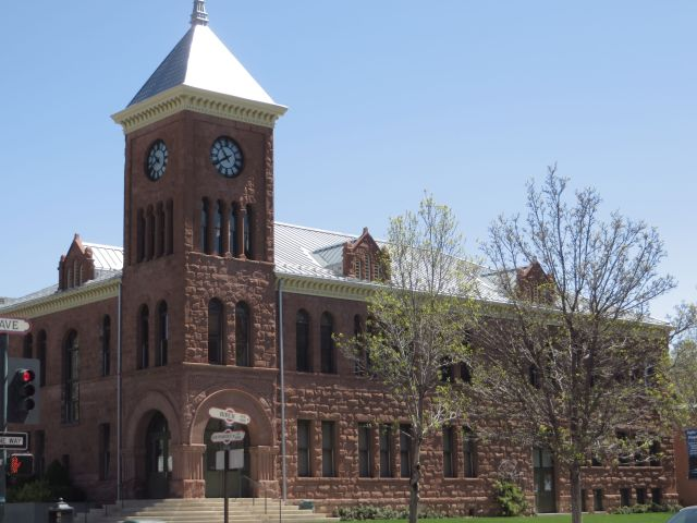 Built of Stone - Coconino County Courthouse