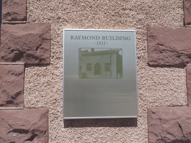 The Raymond Building was built in 1907