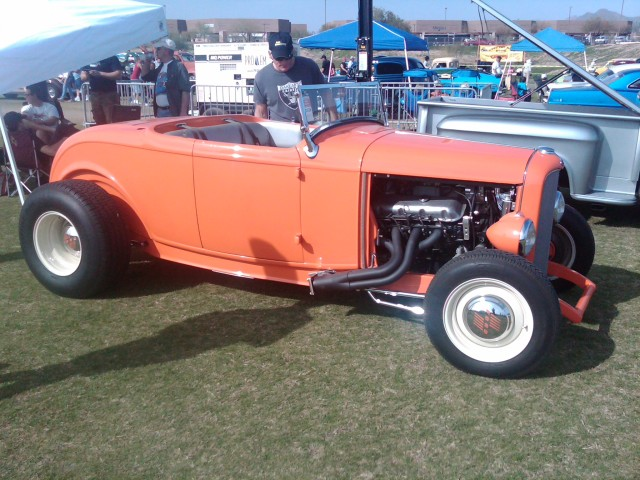 Car Show HR orange roadster