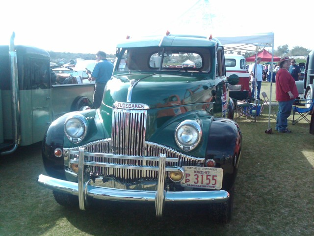 Car Show HR Studebaker truck nice