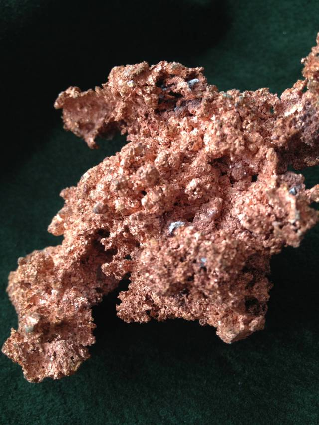 Native Copper, Bisbee, Arizona
